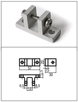 conector din aluminiu