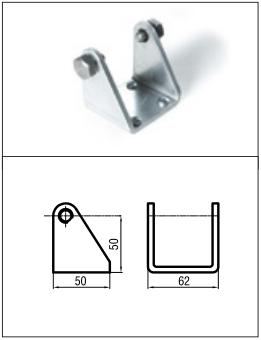 brat terminal aluminiu (inclus)brat terminal aluminiu (inclus)